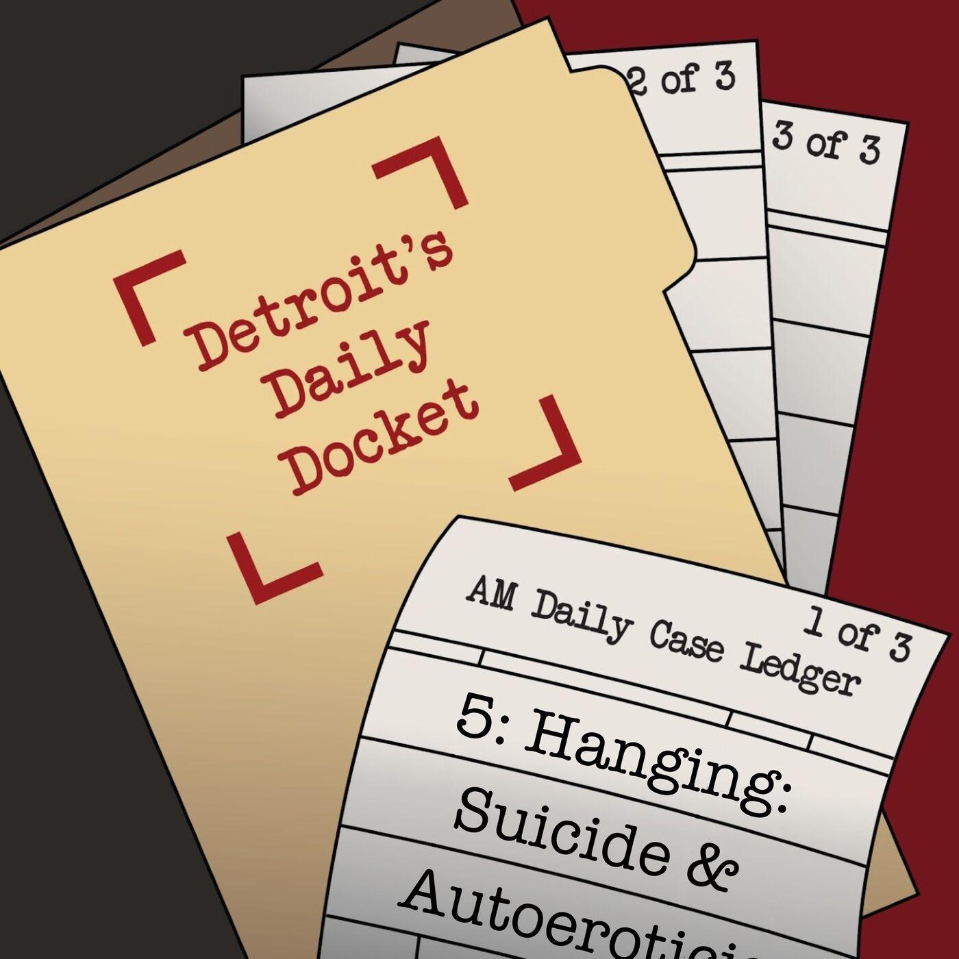 Hanging:  Suicide & Autoeroticism
