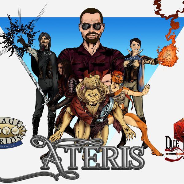 Savage Worlds Ateris Podcast Artwork Image