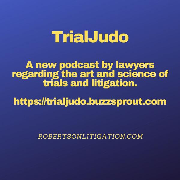 TrialJudo Podcast Artwork Image