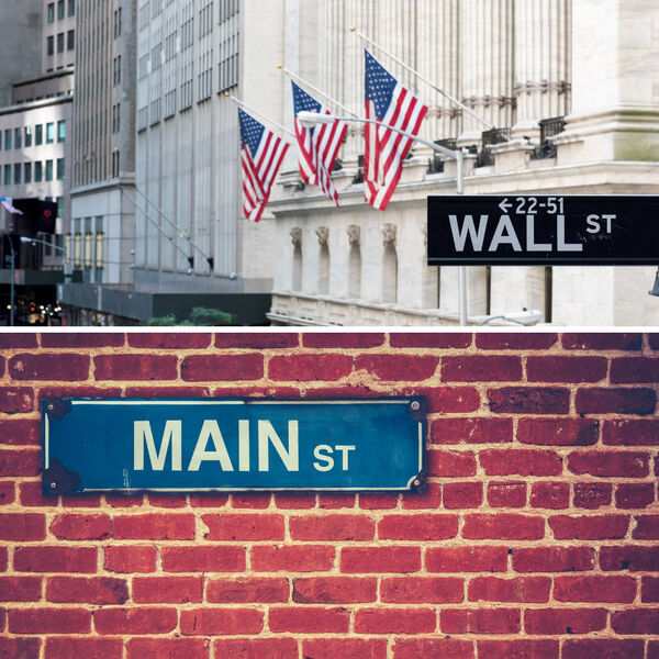 Wall Street to Main Street Podcast Artwork Image