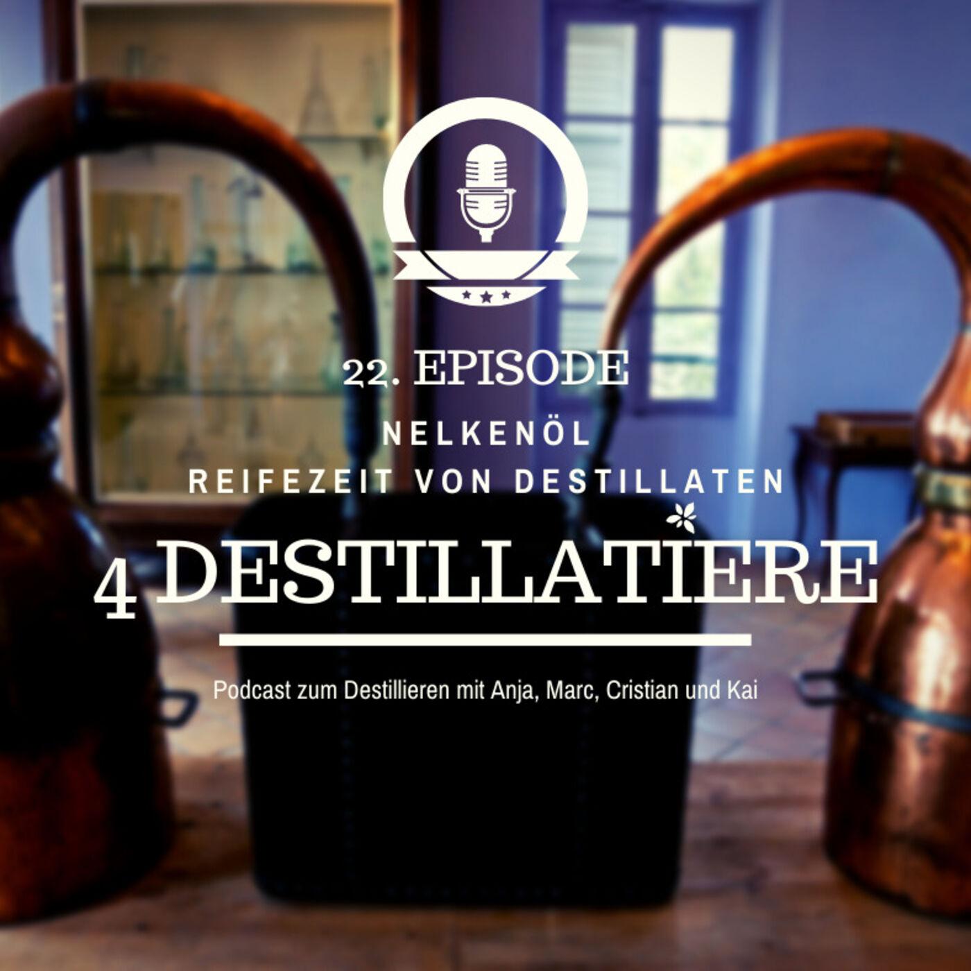 4D 022: Nelke - das Superöl | Reifungsdauer von Destillaten