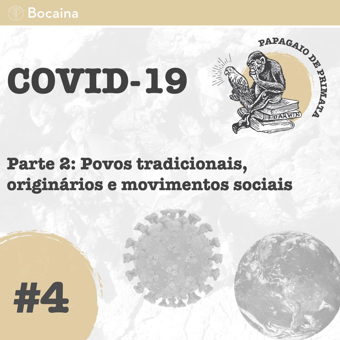 #4 - COVID-19 Parte 2: Povos tradicionais, originários e movimentos sociais