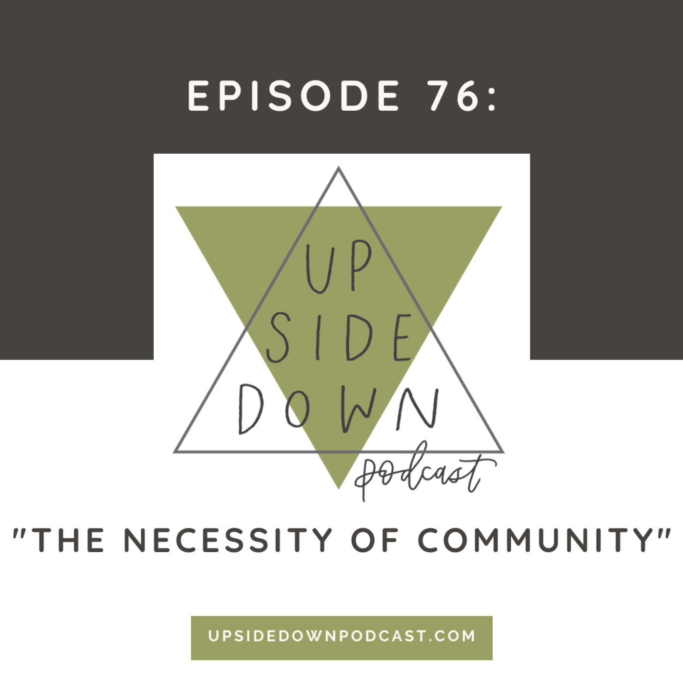 Season 5 | Episode 76: The Necessity of Community: Searching for Your People & Place in 2020