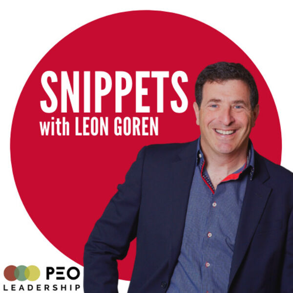Snippets with Leon Goren  Podcast Artwork Image