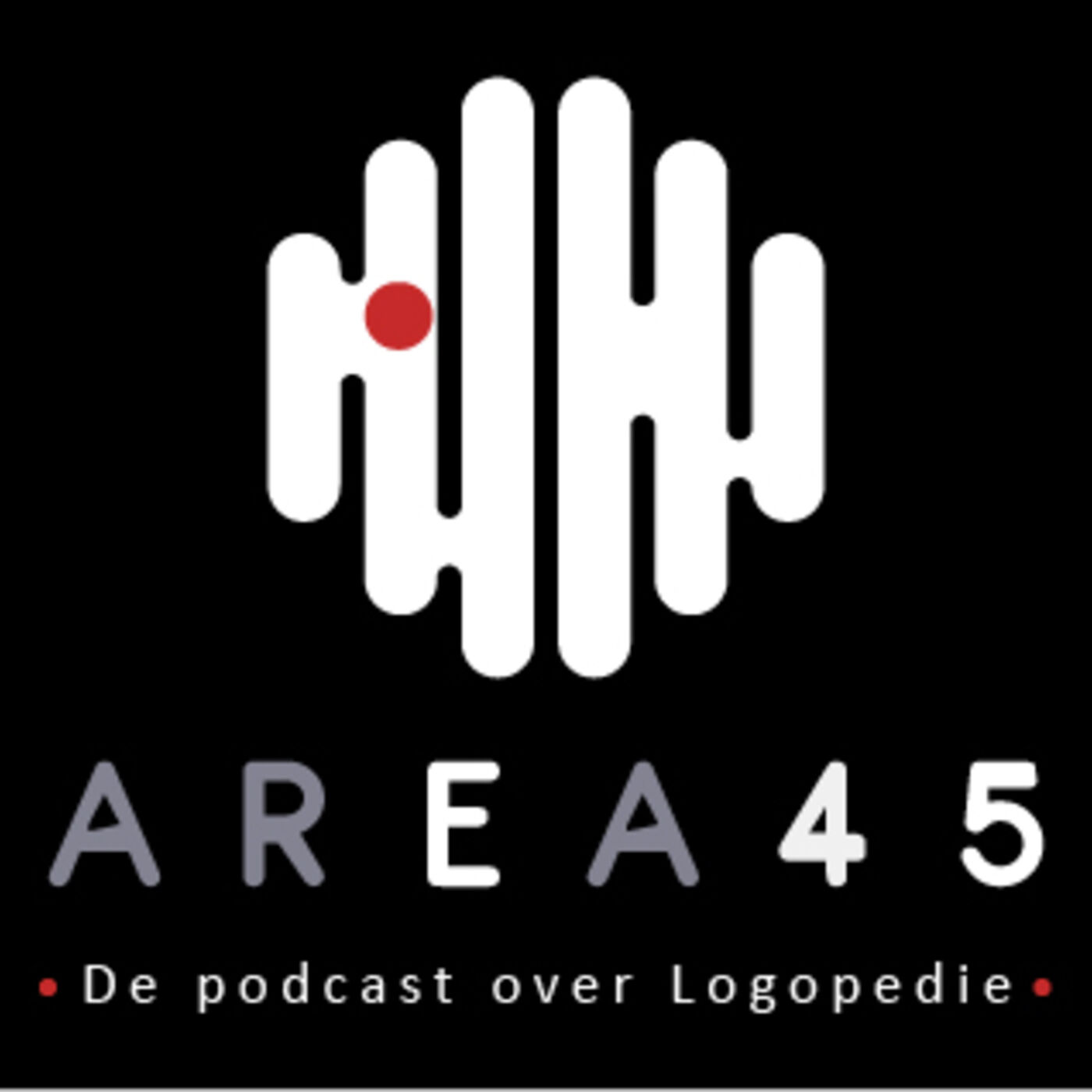Area 45 - De podcast over logopedie logo