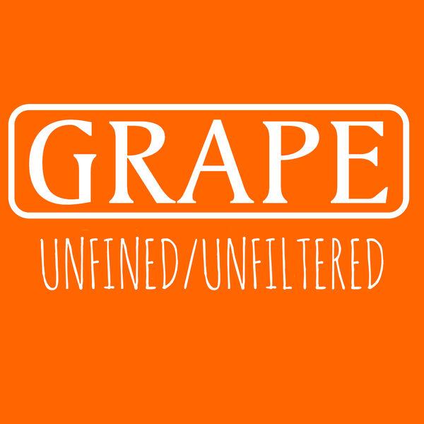 GRAPE: Unfined/Unfiltered Podcast Artwork Image