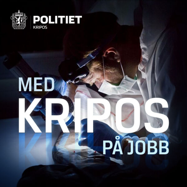 Med Kripos på jobb Podcast Artwork Image
