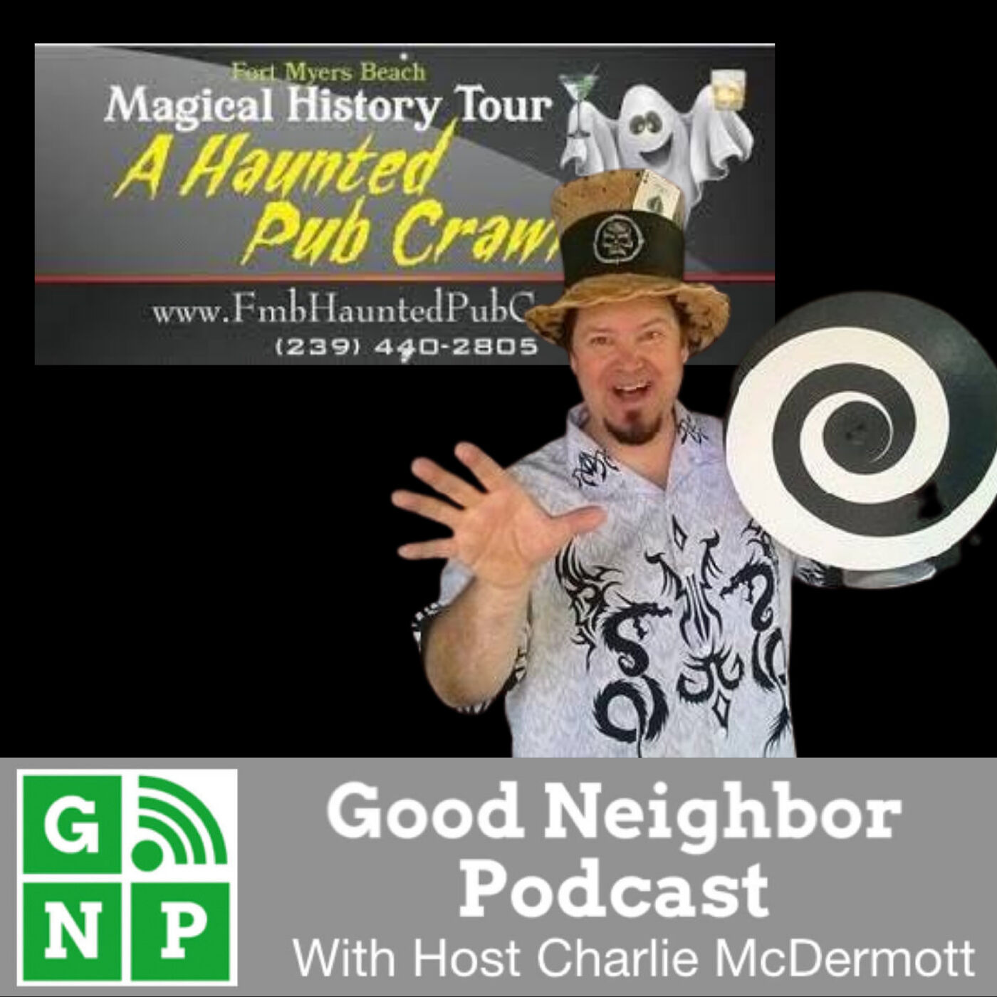 EP #455: Fort Myers Beach Haunted Pub Crawl with Mike Yost