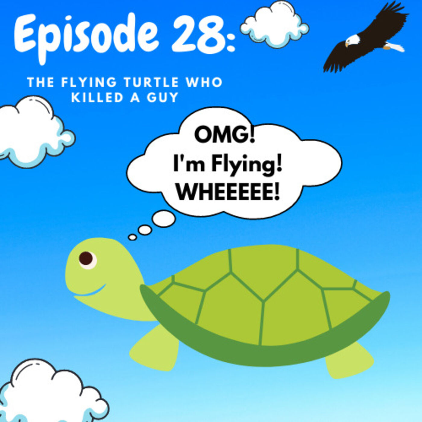 Ep 28: The Flying Turtle Who Killed A Guy