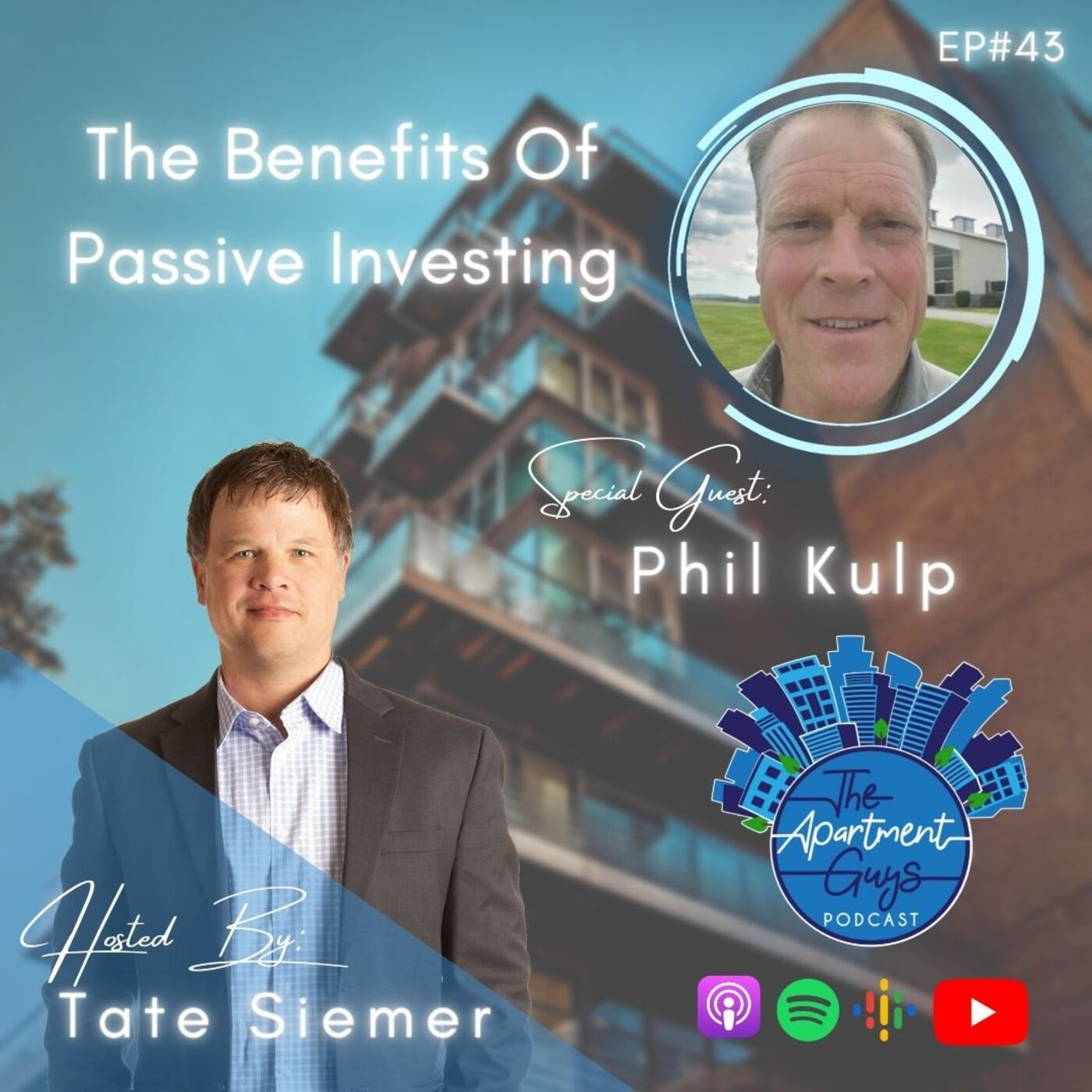 Episode 043: Phil Kulp - The Benefits Of Passive Investing