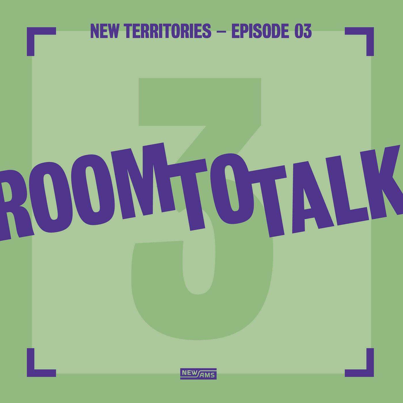 Room to Talk: New Territory Episode 3: Omroep Zwart