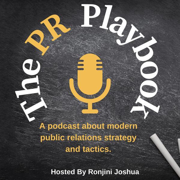 The PR Playbook Podcast Podcast Artwork Image