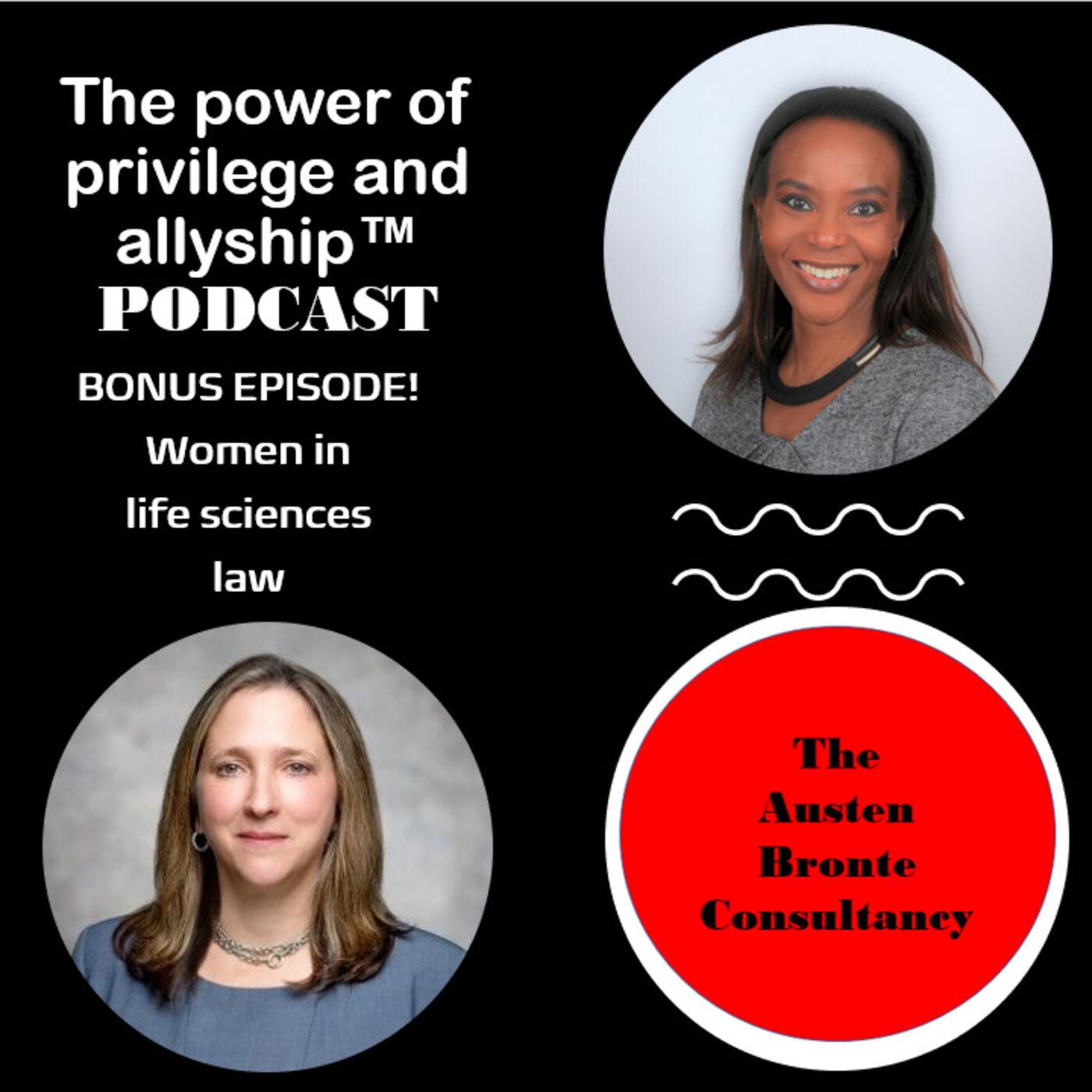 S1 BONUS EPISODE: Women in life sciences law feat. Diane Lifton