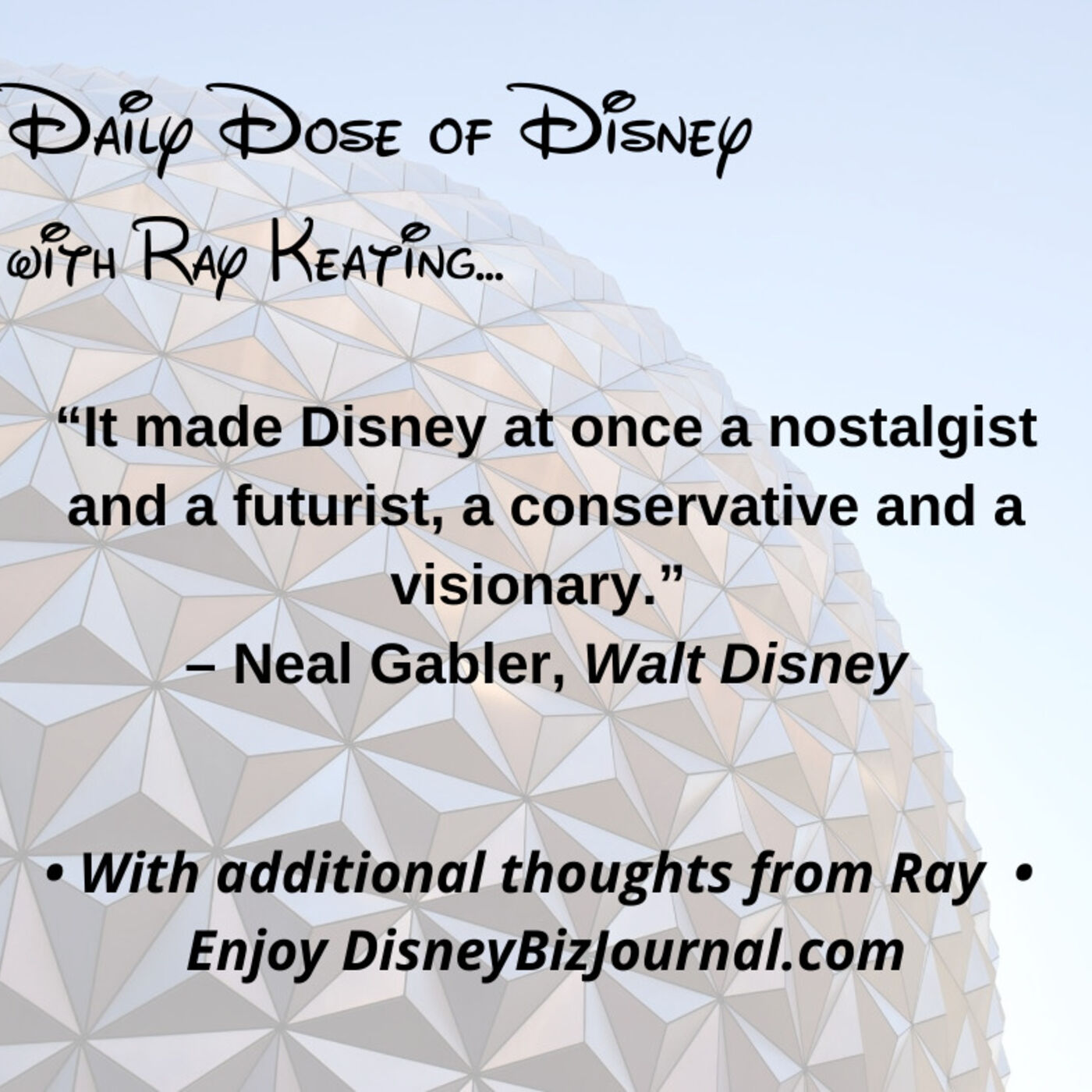 Episode #52: Yes, Walt Disney was a Visionary and a Conservative