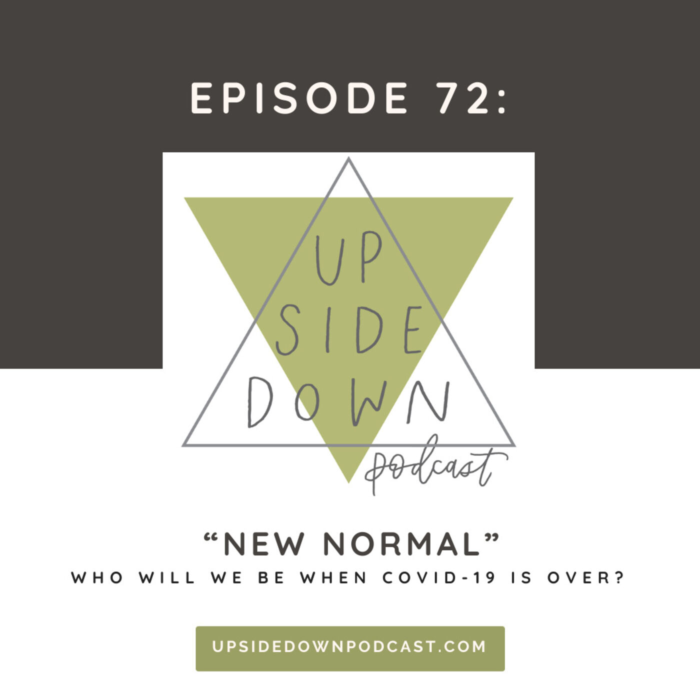 Season 4 | Episode 72 - We're Not Going Back to Normal: Who Will We Be When This is Over?