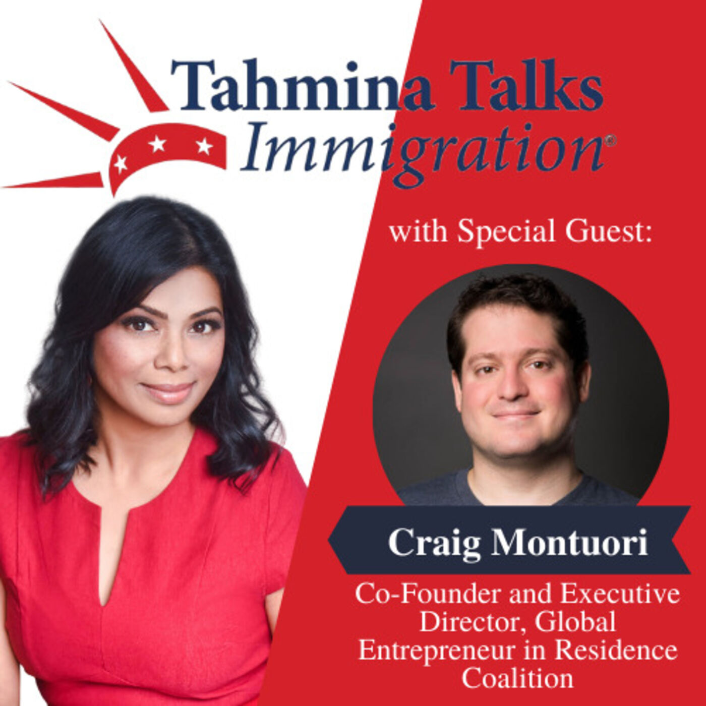 #122 Startup Visa Series - Craig Montuori, Co-Founder and Executive Director, Global Entrepreneur in Residence Coalition