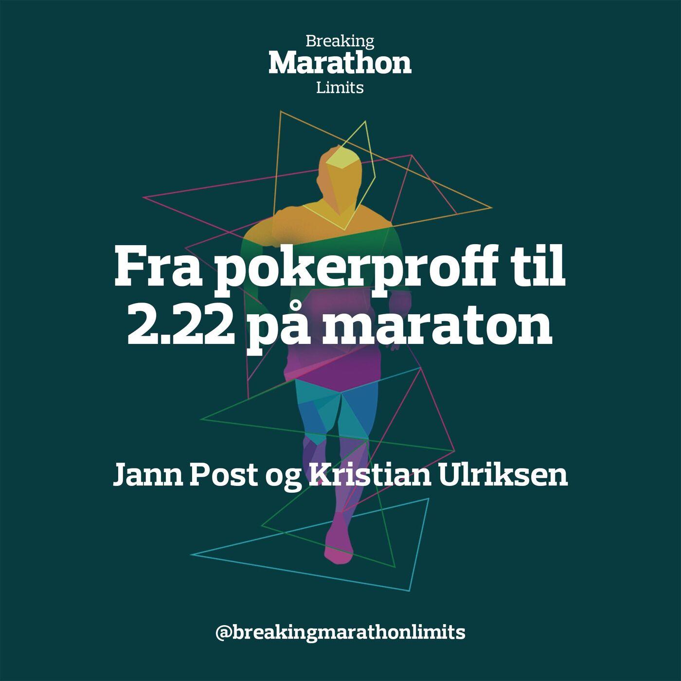 Fra pokerproff til 2.22 på maraton
