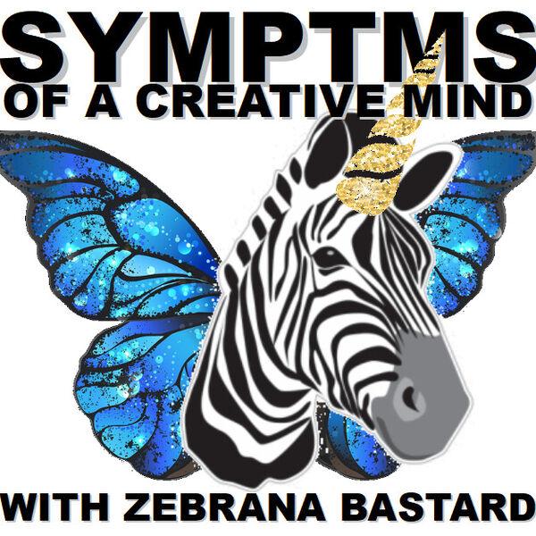 SYMPTMS of a Creative Mind Podcast Artwork Image