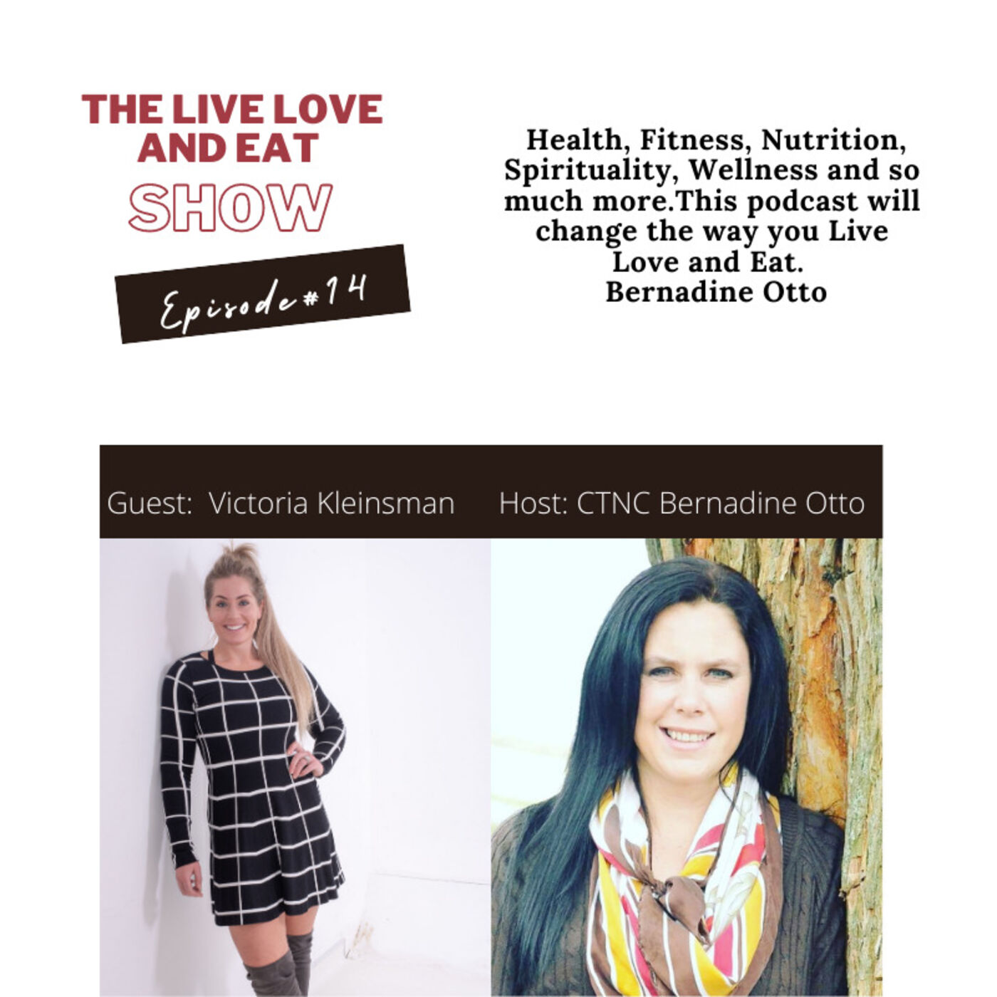 Episode 14:  Binge Eating, Body Confidence and Self Love By Victoria Kleinsman