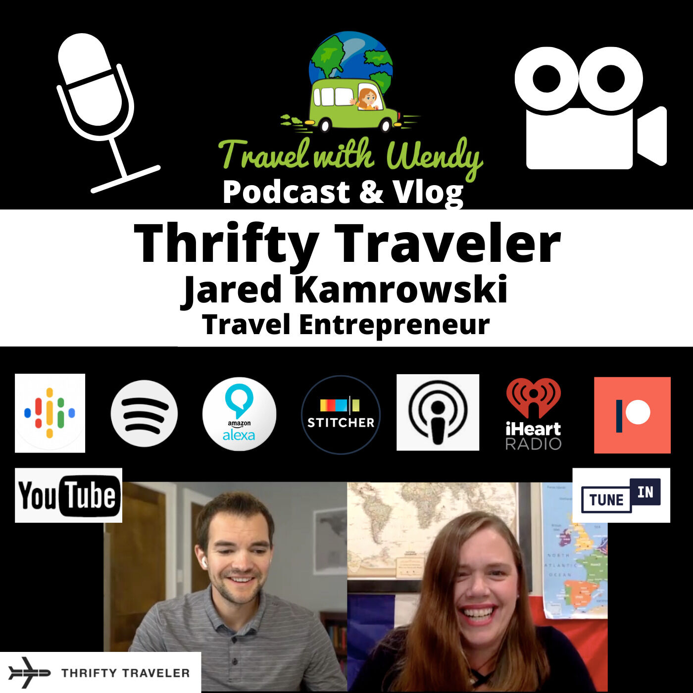 #19 Talking Travel with the Thrifty Traveler - Jared Kamrowski