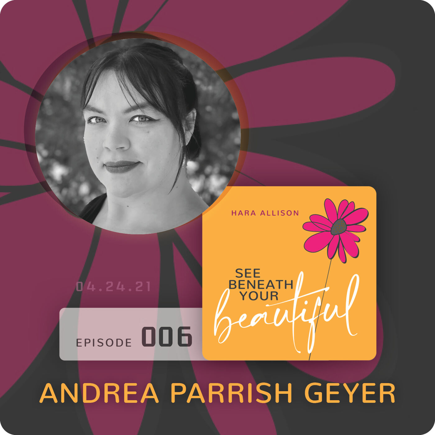 006. Andrea Parrish Geyer discusses questions, public speaking, weight, shame, polyamory, pansexuality, ethical non-monogamy, platonic wives, being an embodied ghost and a giant spider on stage