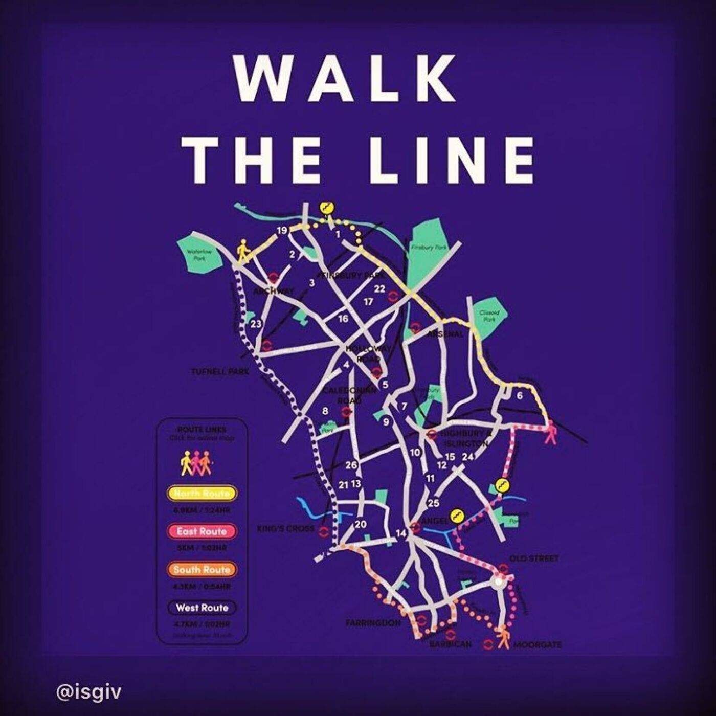 """4. """"Walk The Line"""" With Islington Giving This Summer To Raise Some Johnny Cash!"""