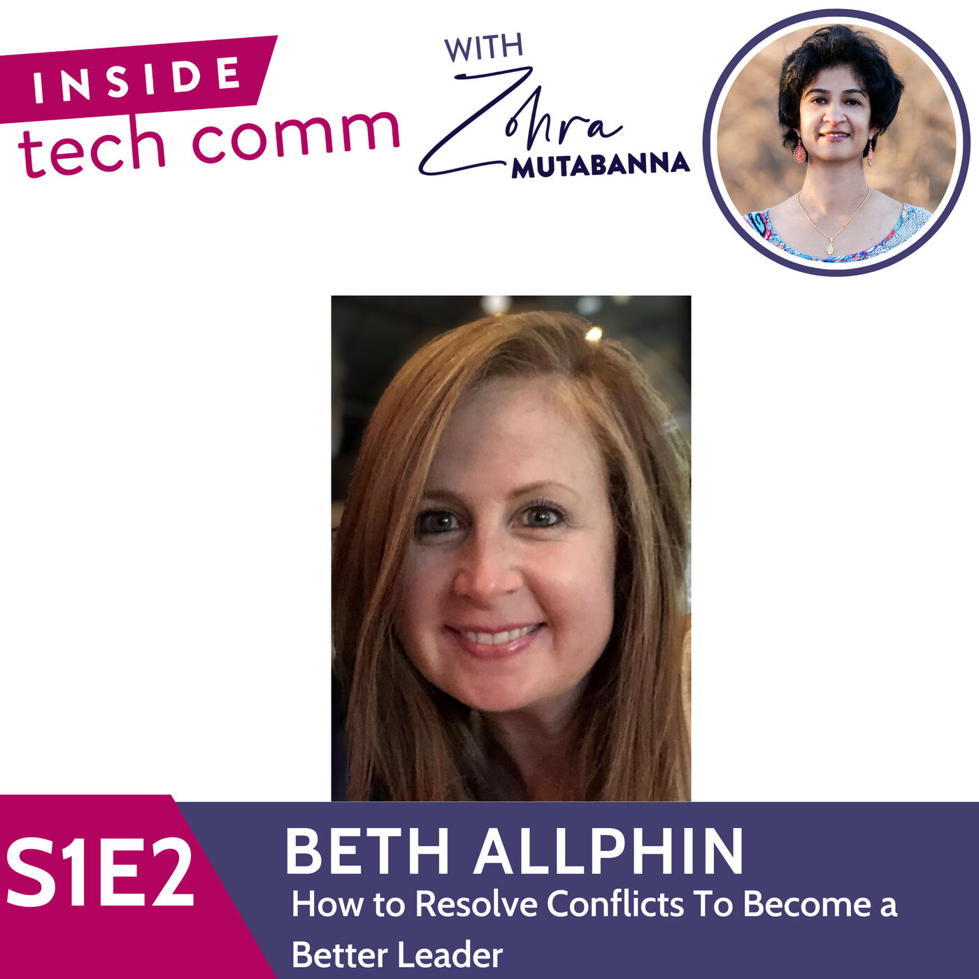 S1E2 How to resolve conflicts to become a better leader with Beth Allphin