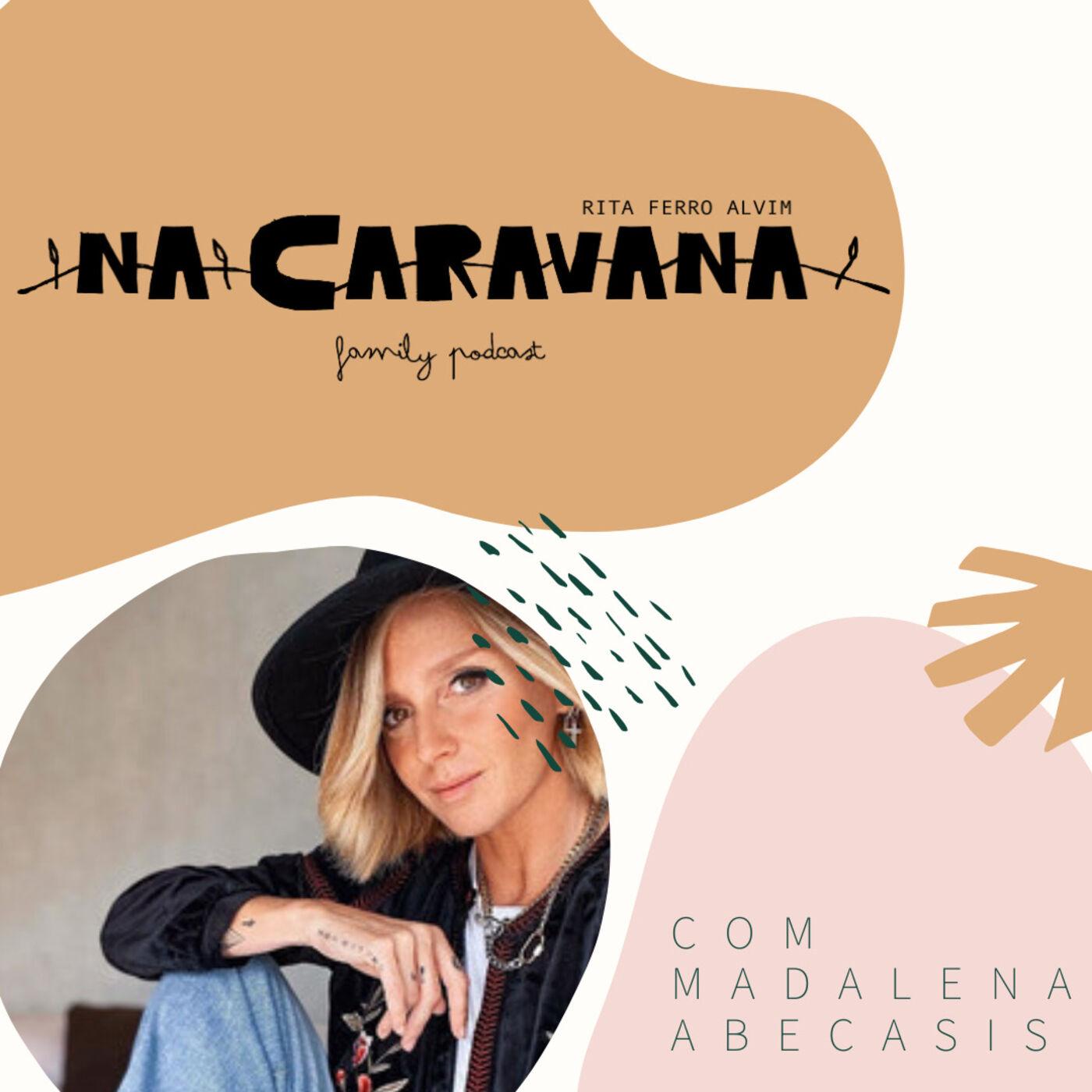 N'A Caravana com Madalena Abecasis #9 Madaleners, impecável, nova, incrível
