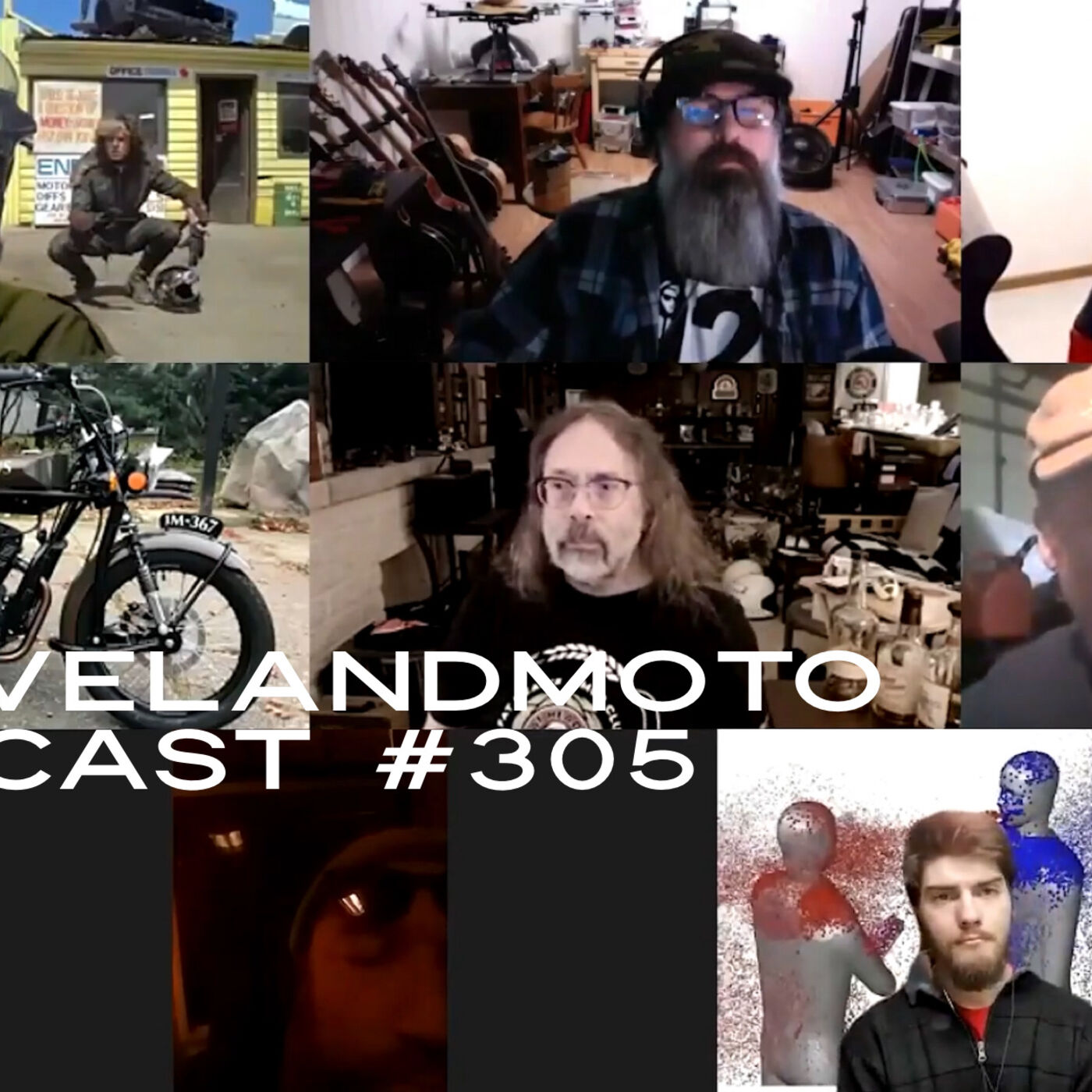 ClevelandMoto Podcast 305 Pokin' at Chris' (j)Anus