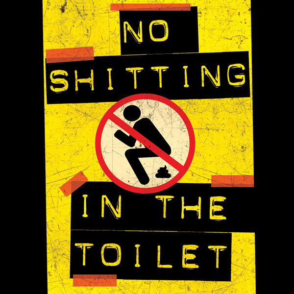 No Shitting In The Toilet Podcast Artwork Image