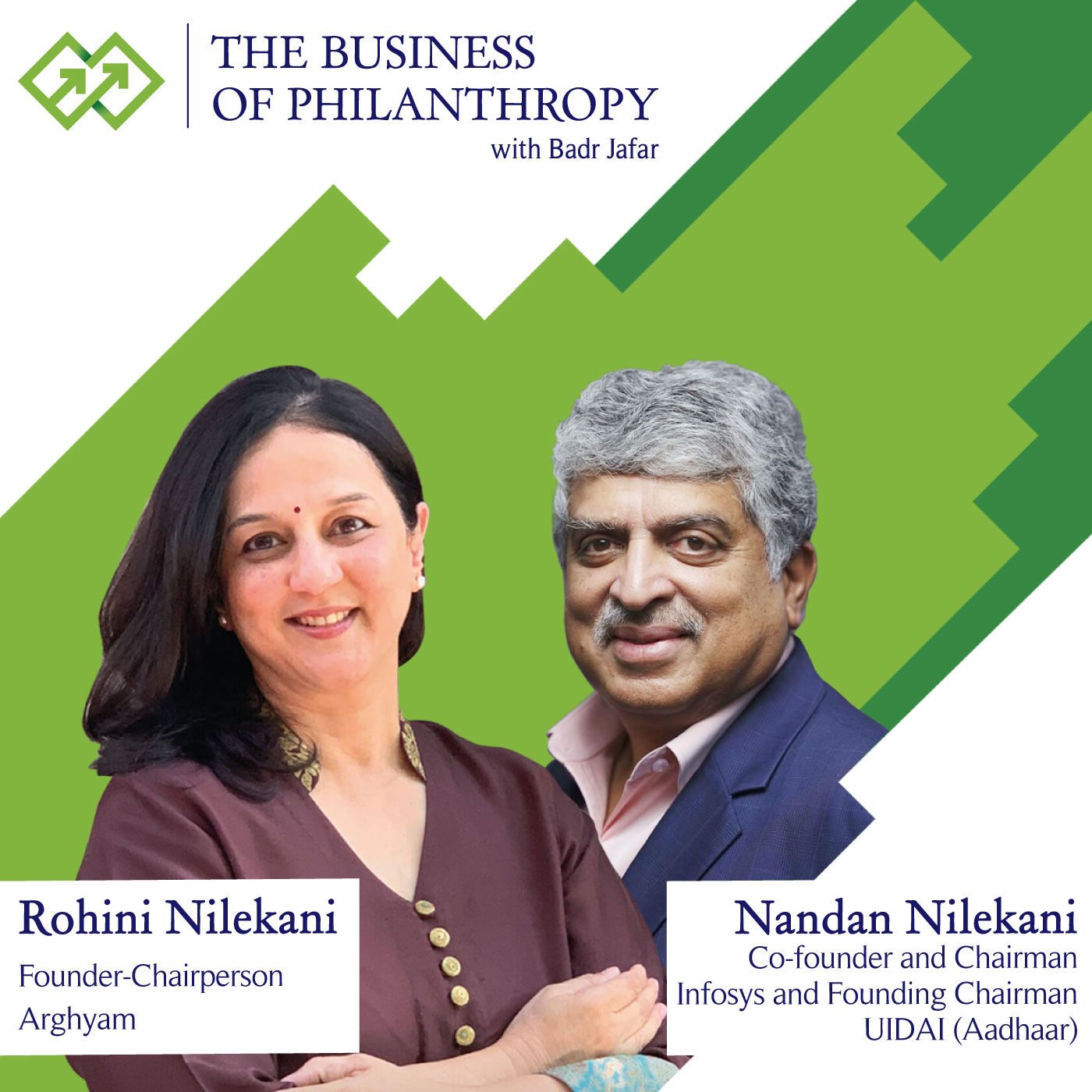 Nandan and Rohini Nilekani; A Conversation with Badr Jafar