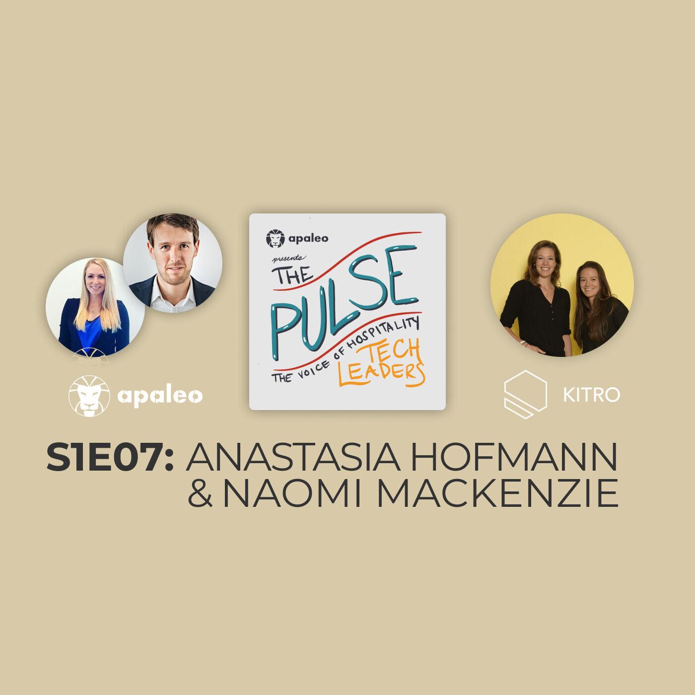 """Building an AI-focused startup in a non-digital industry"" KITRO's Anastasia Hofmann & Naomi MacKenzie"