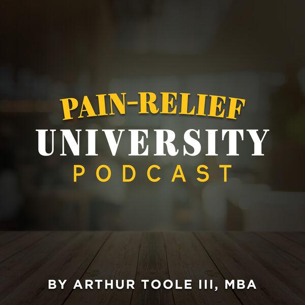 Pain Relief University Podcast Artwork Image