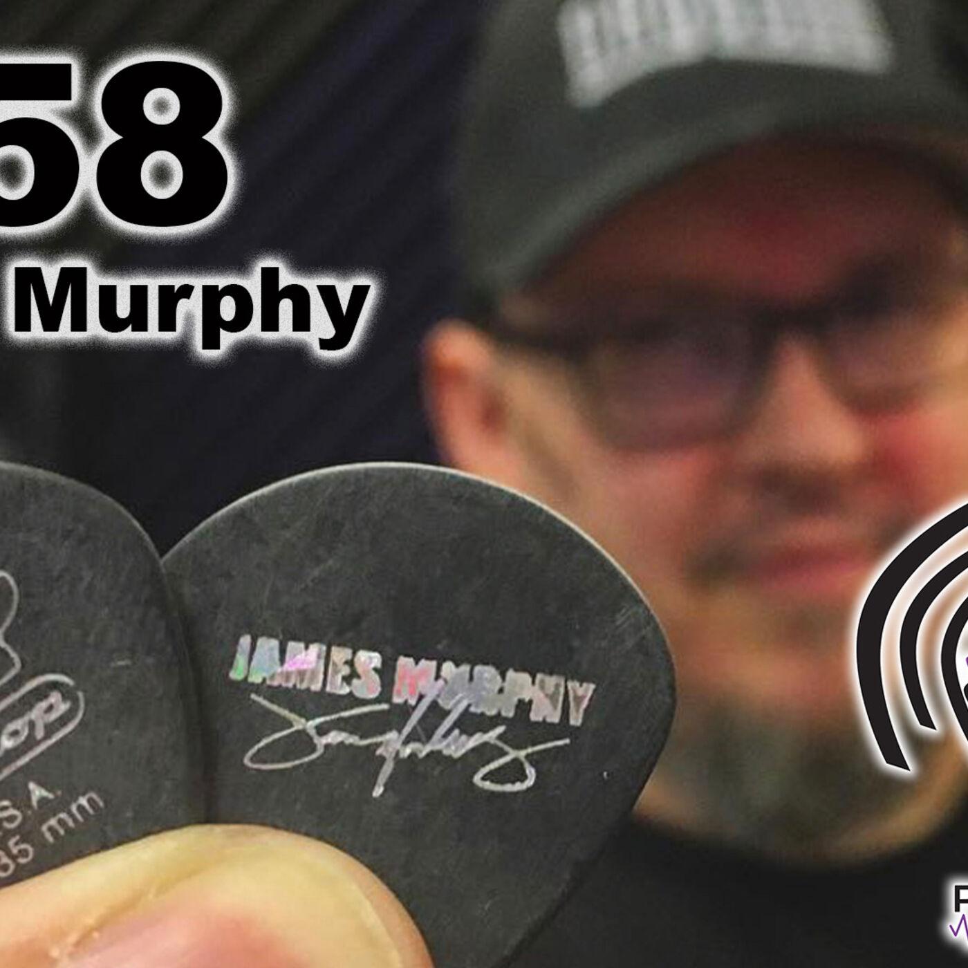 #58 Player's Pick Podcast - James Murphy / Death / Testament / Disincarnate