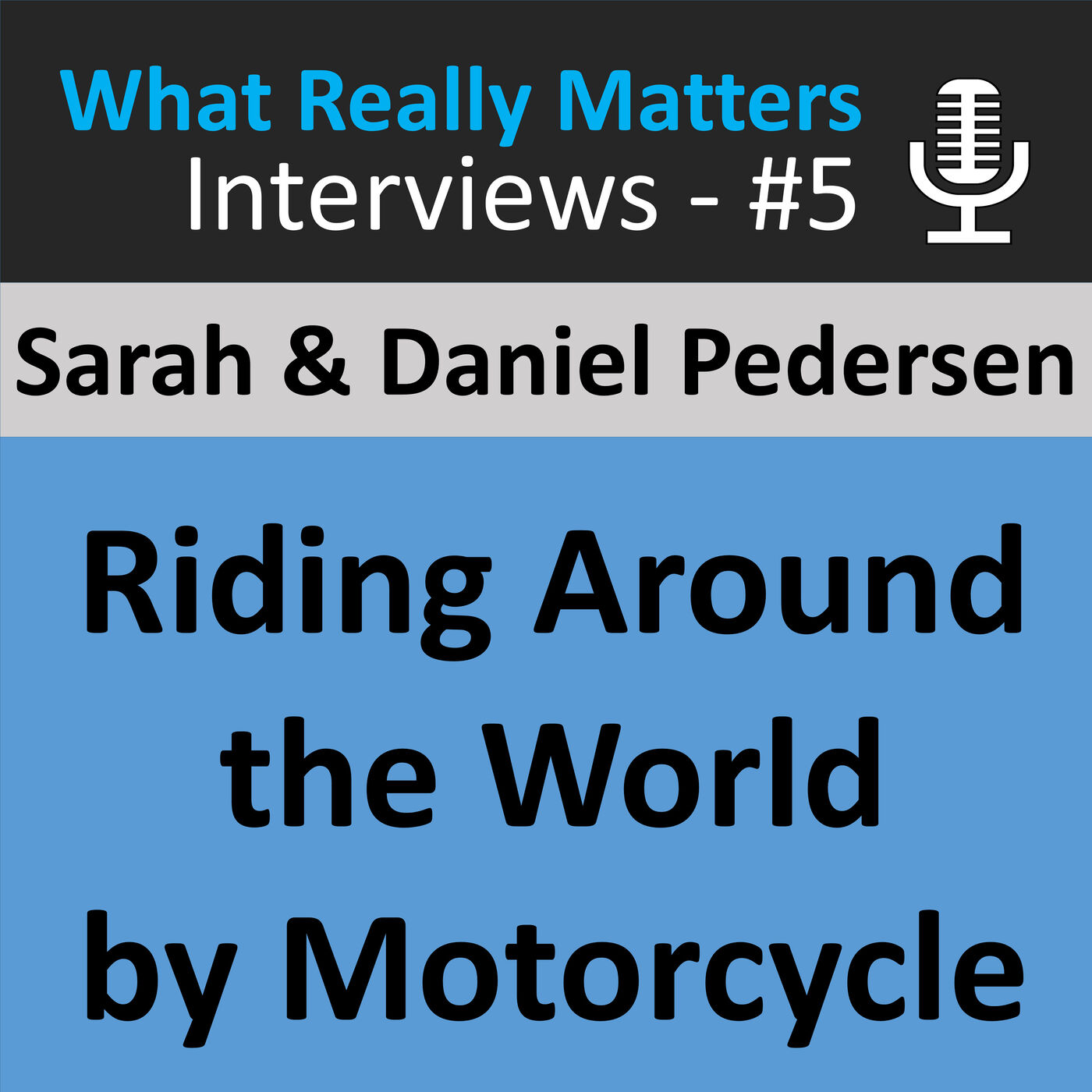 WRMI 005: Interview with Sara & Daniel Pederson: Traveling Around the World by Motorcycle