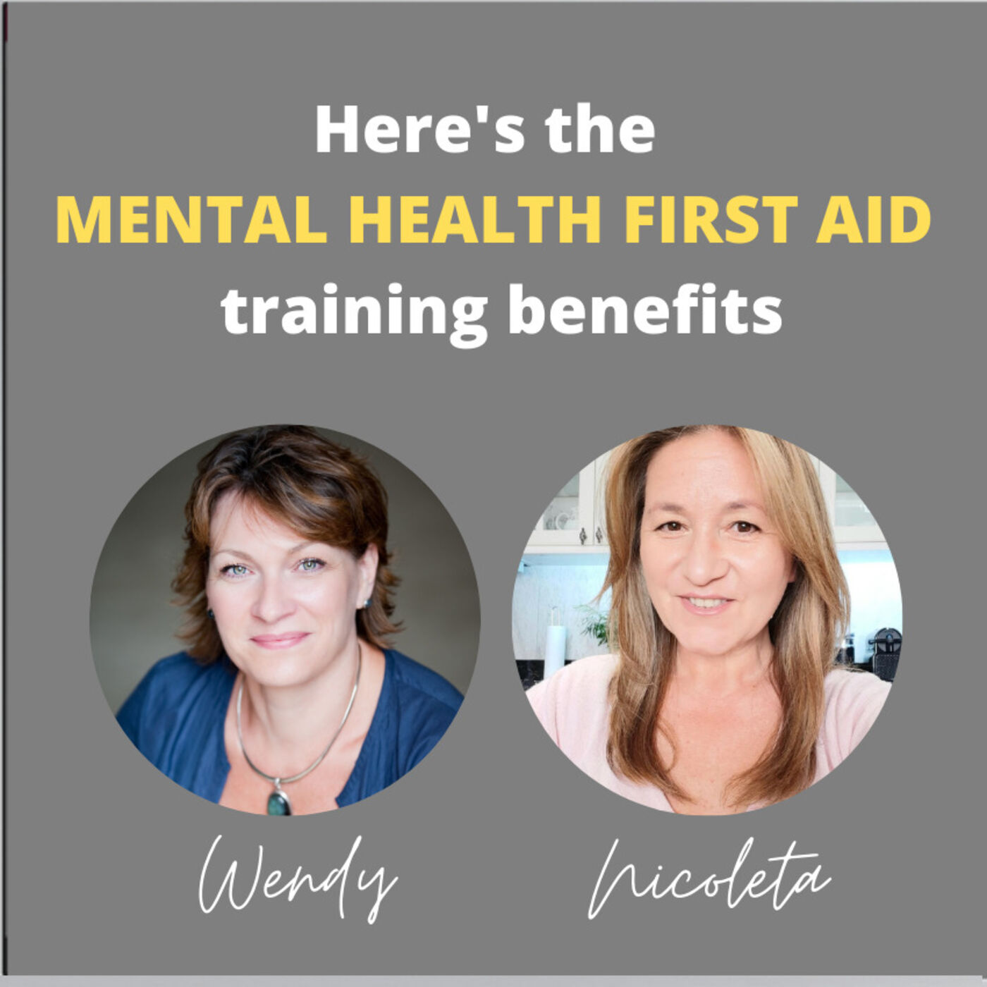 11 - Here's the Mental Health First Aid training benefits