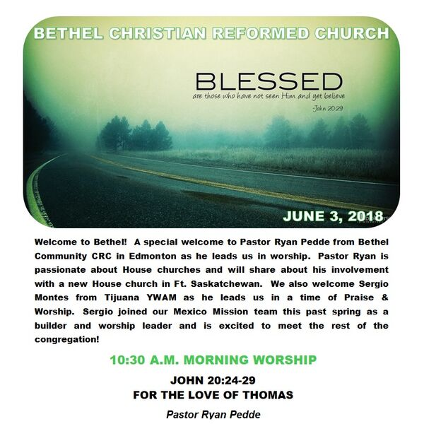 Bethel CRC Lacombe Podcast Artwork Image