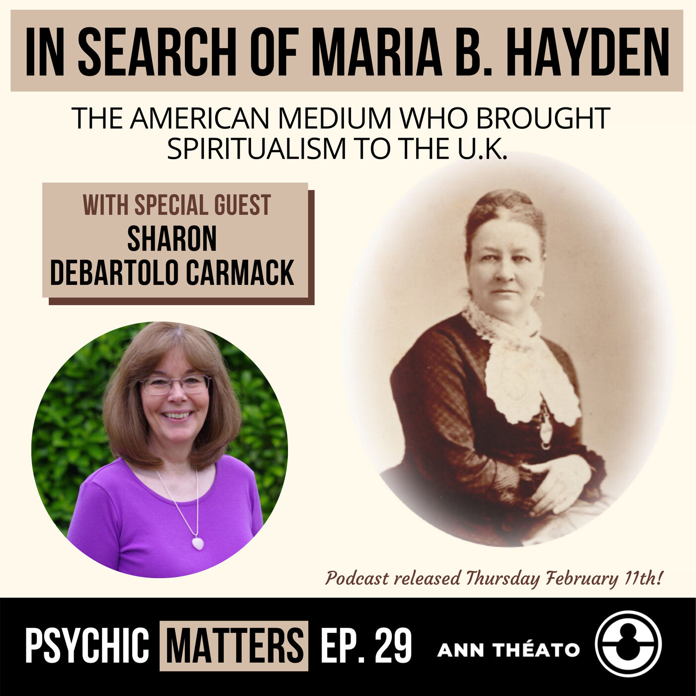 PM 029: In Search Of Maria B. Hayden with Sharon DeBartolo Carmack
