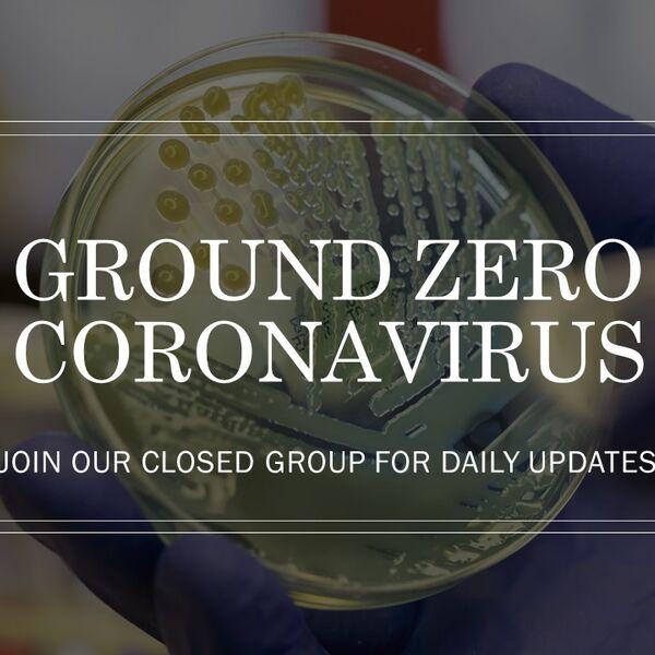 Coronavirus Ground Zero Podcast Artwork Image
