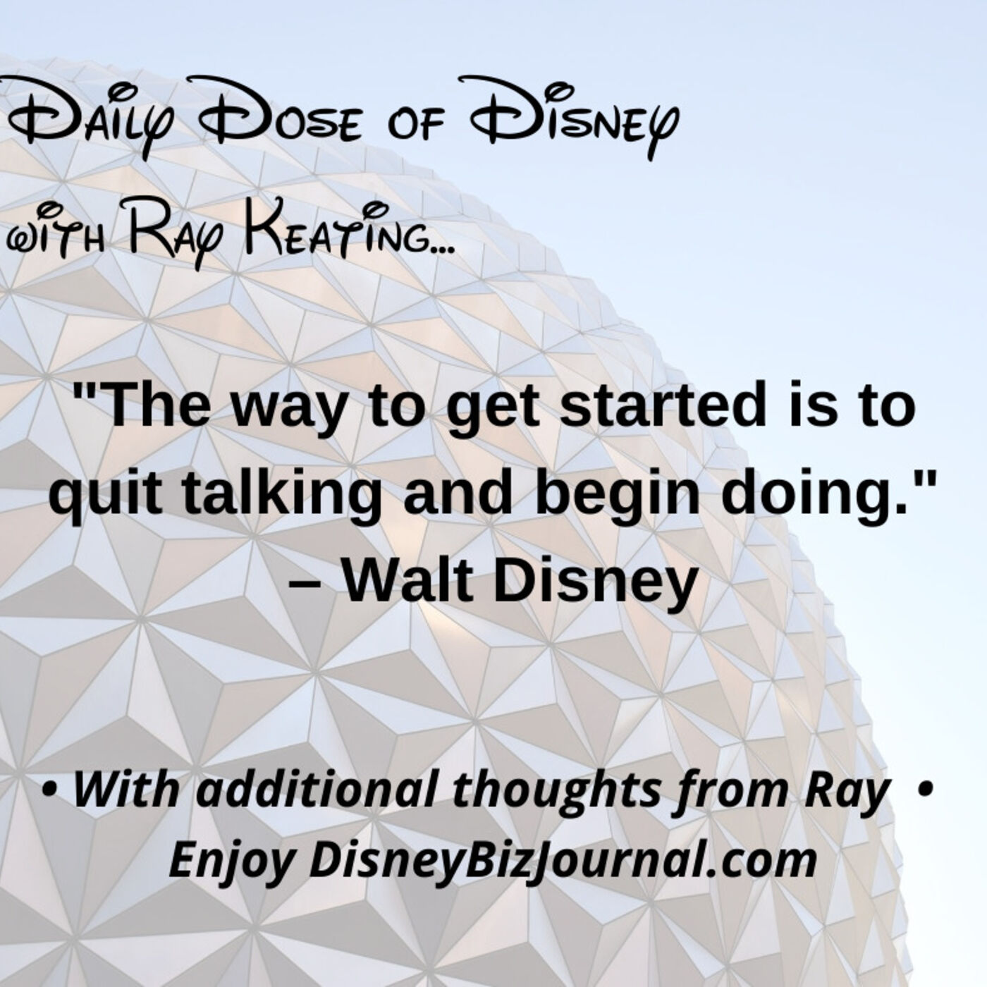 Episode #60: Walt Disney on Doing