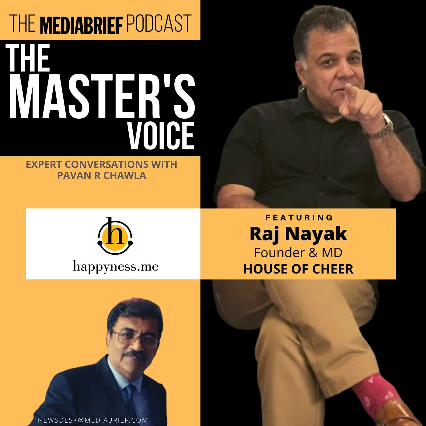 EXCLUSIVE PODCAST | Raj Nayak of House Of Cheer on the 'H' Factor and more