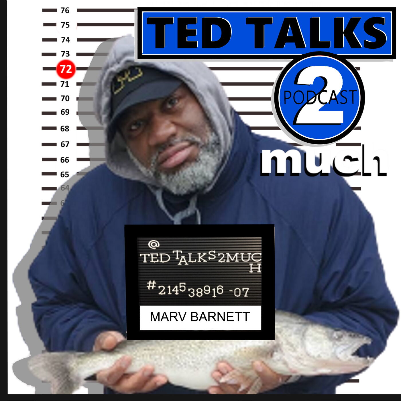 TED TALKS 2 Marv Barnett (Way 2 Much)... about the Future of Comedy, Street Language and Surviving Covid 19.