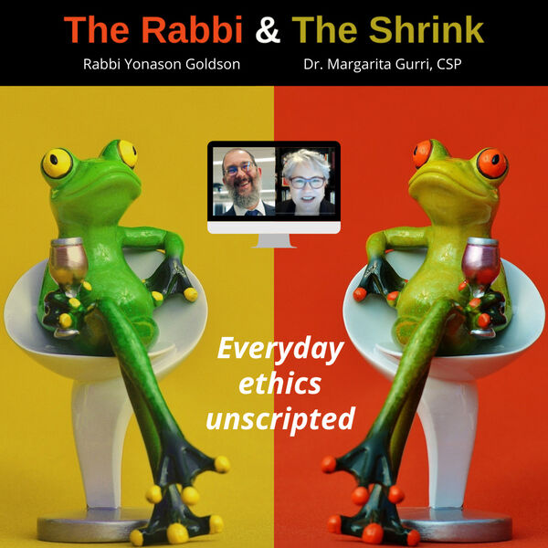 The Rabbi and The Shrink Podcast Artwork Image