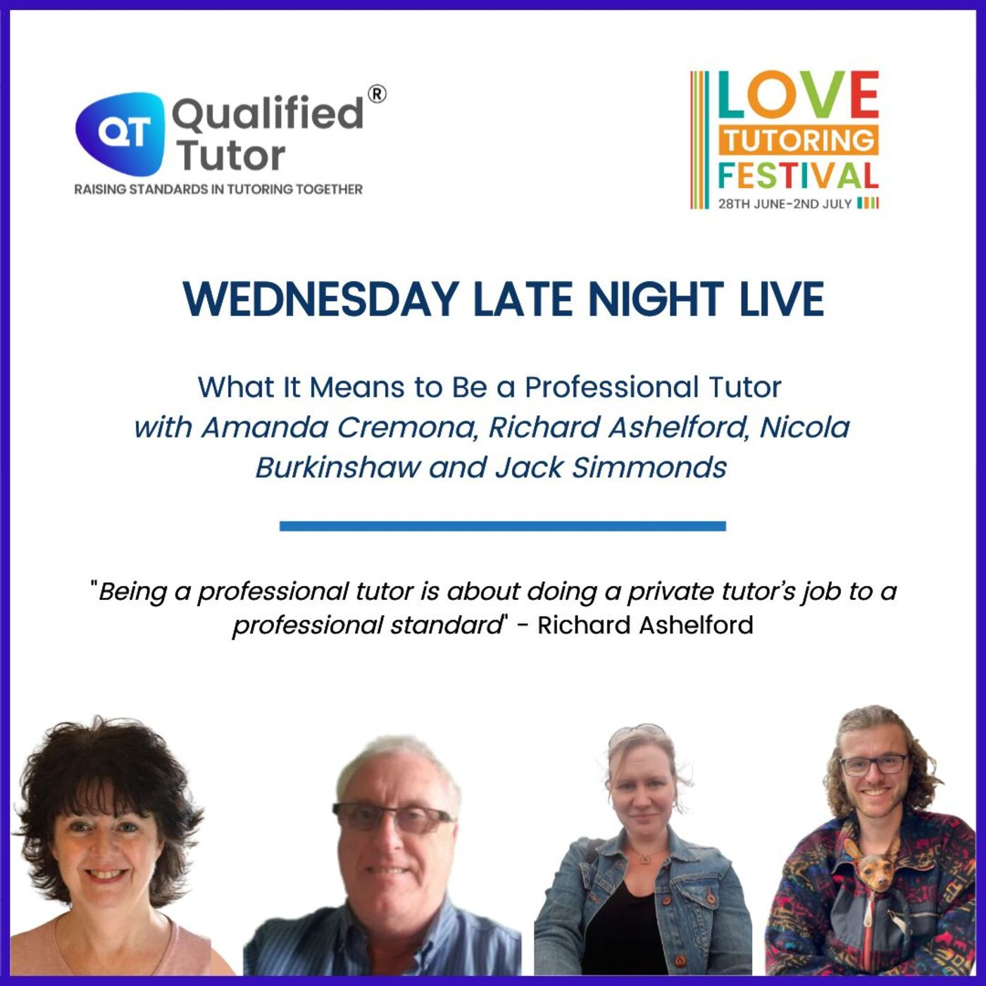 Love Tutoring Festival 2021 Podcast #3 - What It Means to Be a Professional Tutor