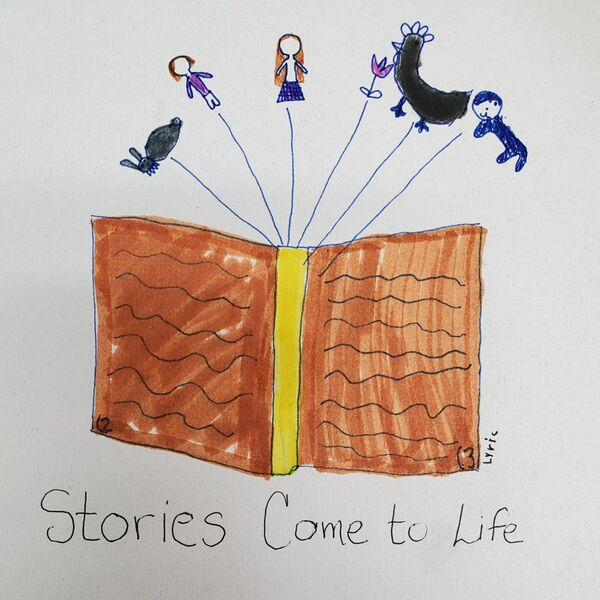 Stories Come to Life Podcast Artwork Image