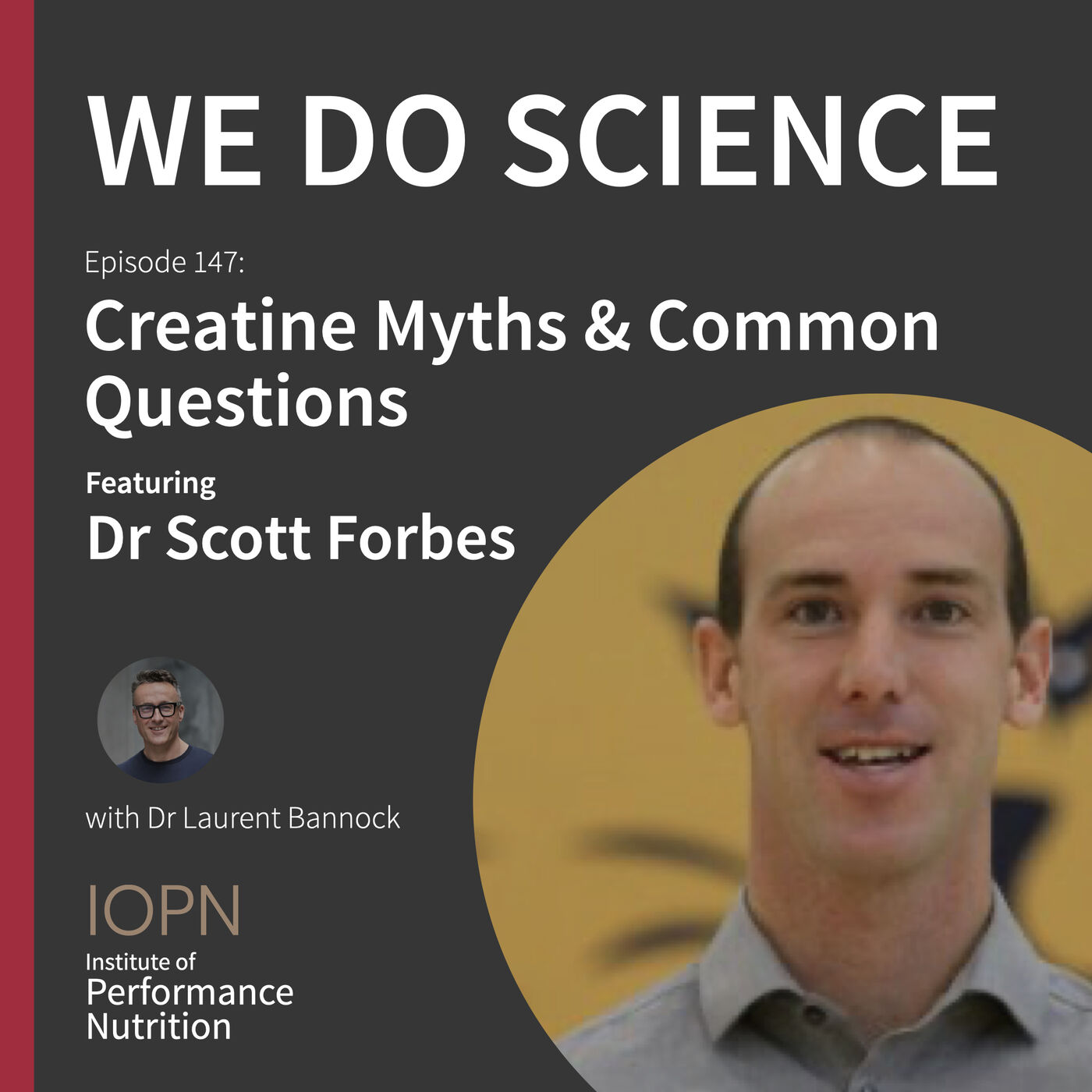 """Creatine Myths and Common Questions"" with Dr Scott Forbes PhD"