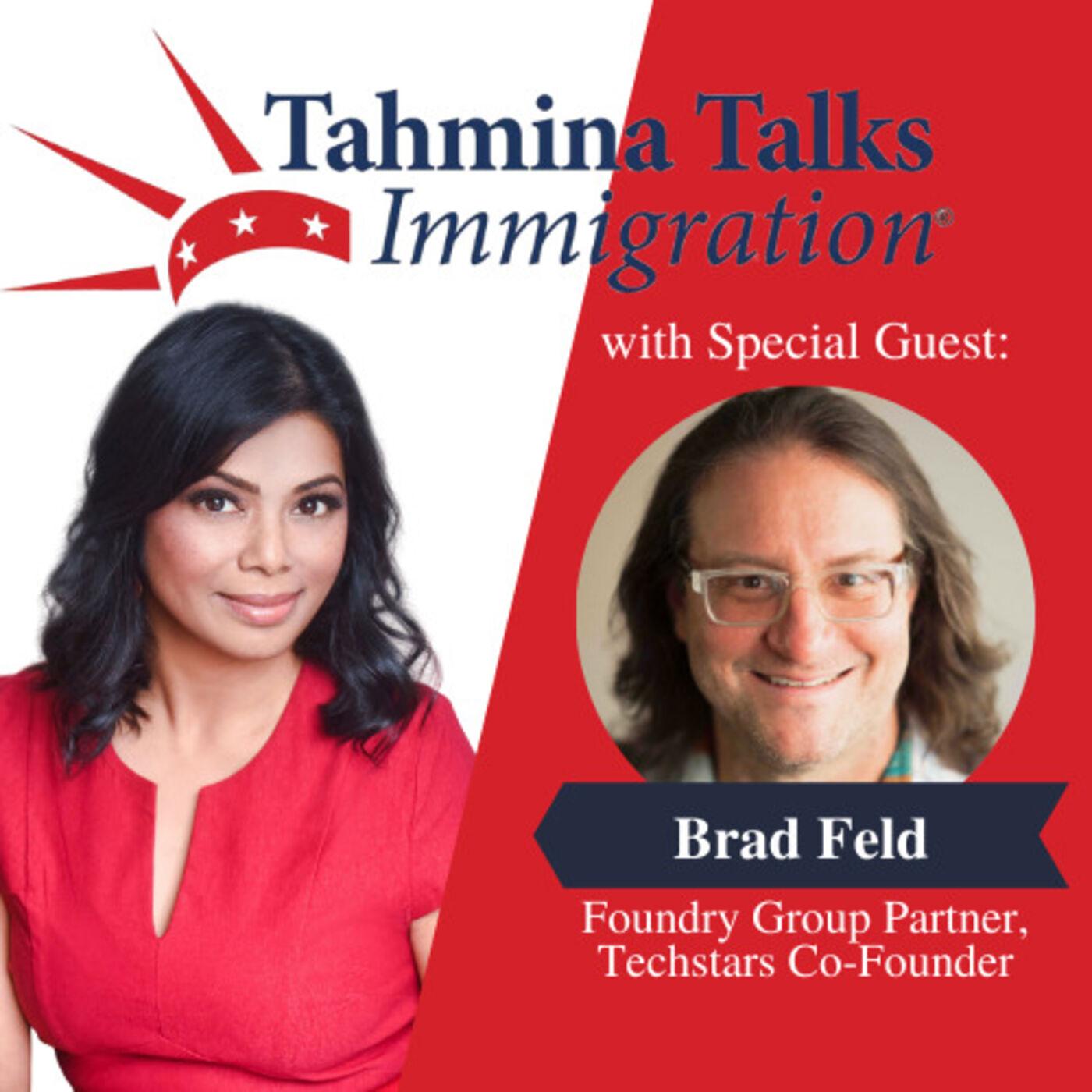 #123 Startup Visa Series - Brad Feld, Foundry Group Partner, Techstars Co-Founder