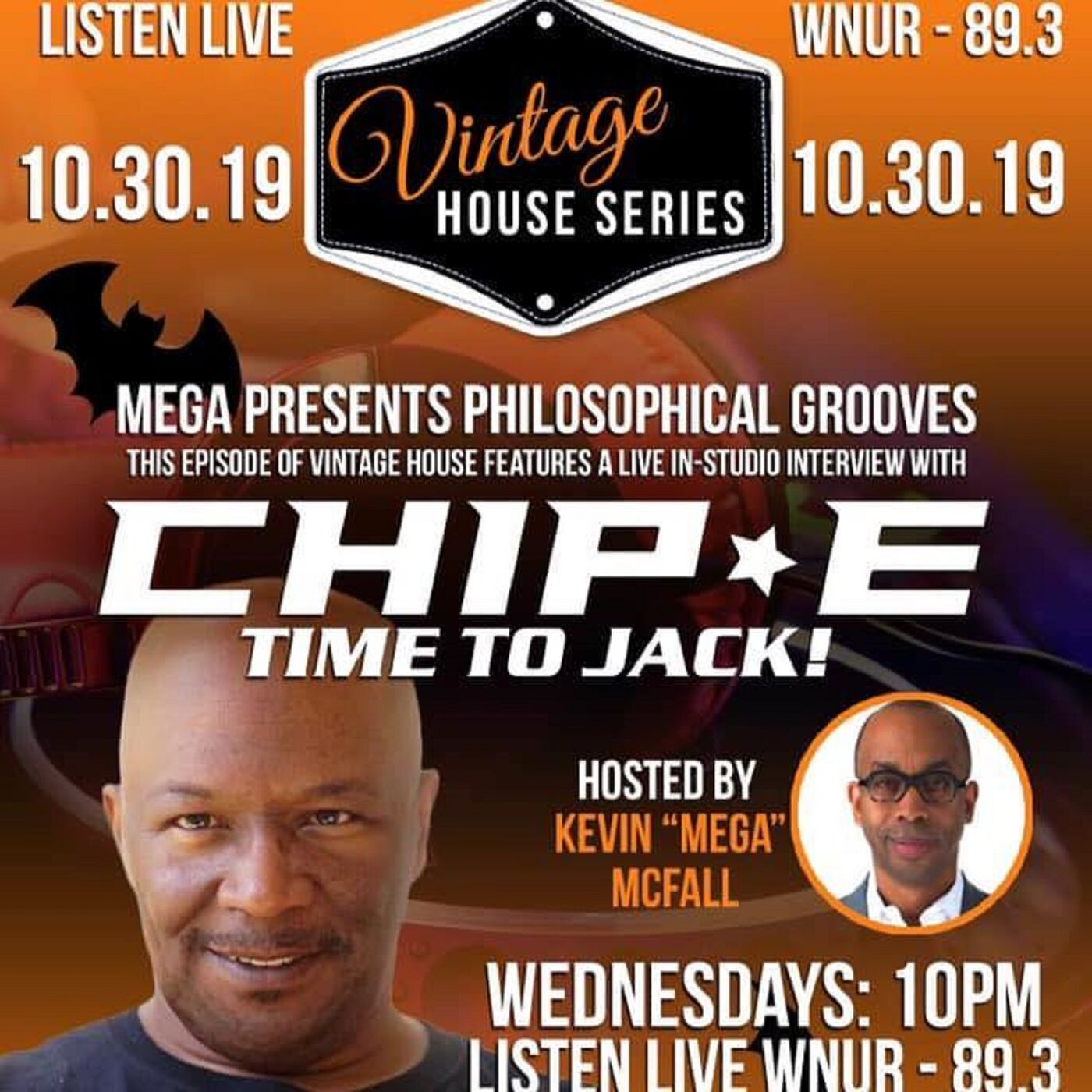 CHIP E & Kevin McFall on Vintage House on WNUR powered by @DanceMusicFound