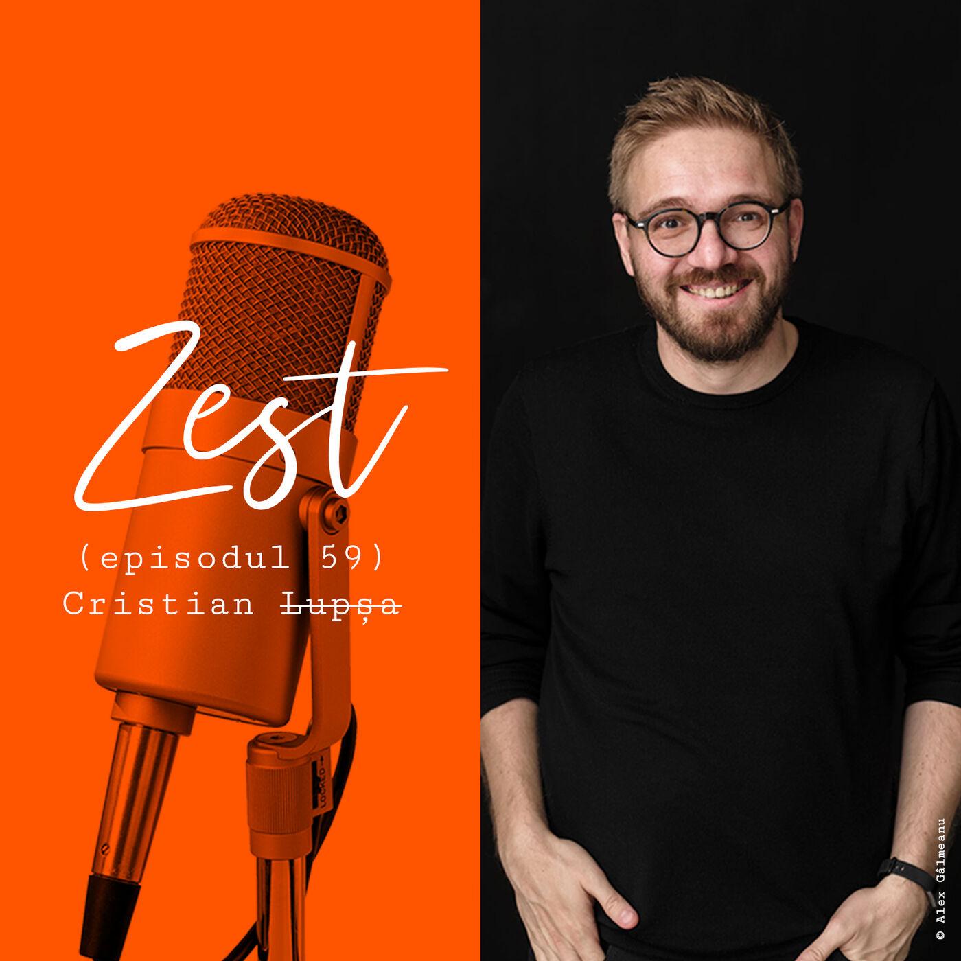Cristian Lupșa: Să scrii e un privilegiu, dar și un job