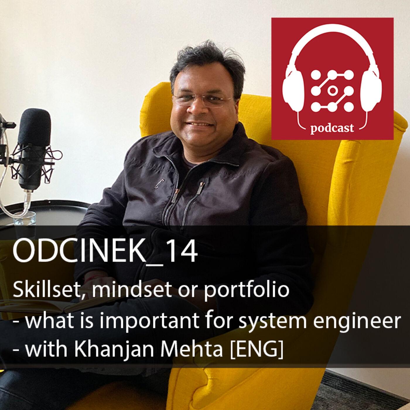 Skillset, mindset czy portfolio - co jest ważne dla inżyniera systemów - rozmowa z Khanjanem Mehta [ENG]    Dostarczaj Wartość #14